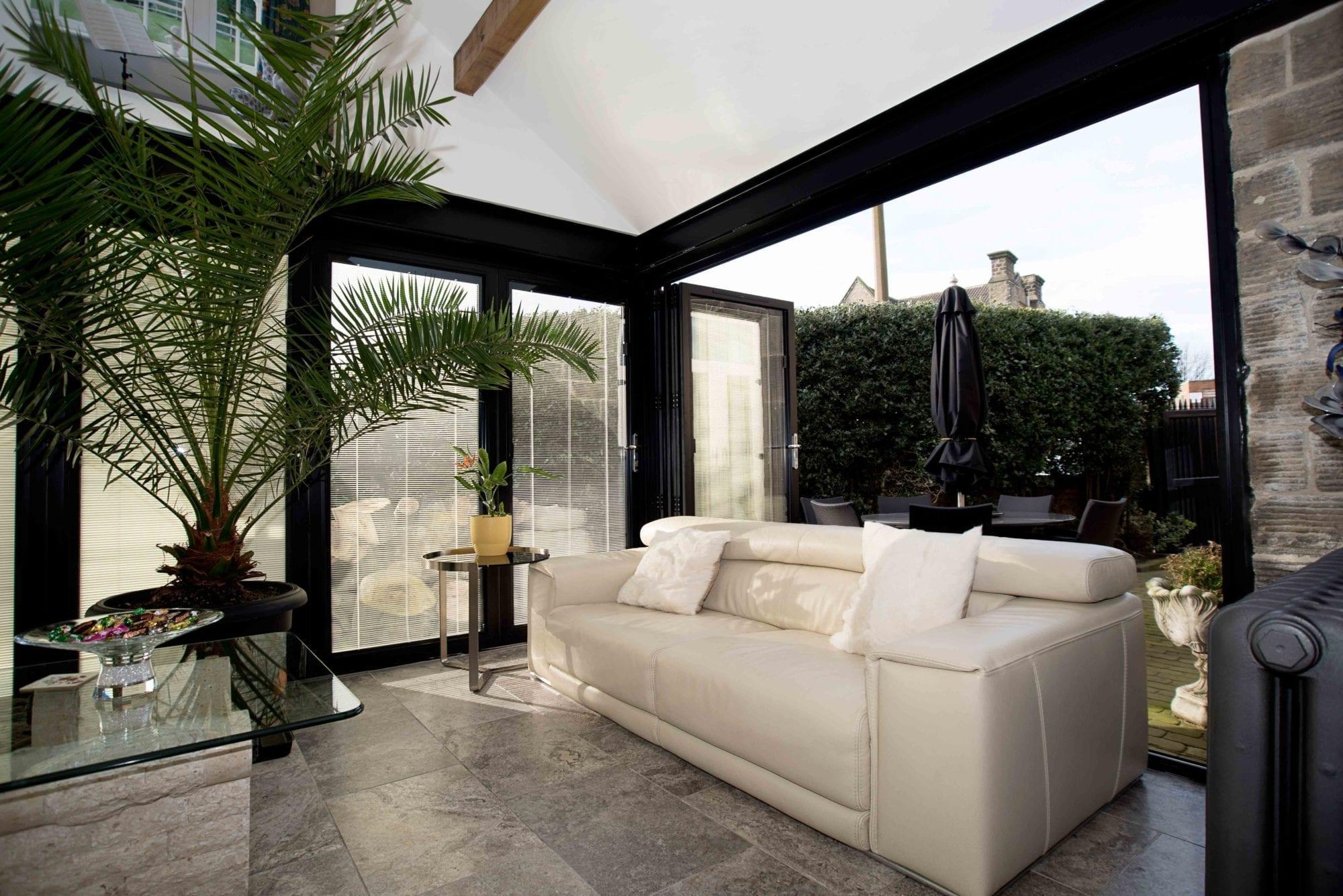 conservatory bi folding doors
