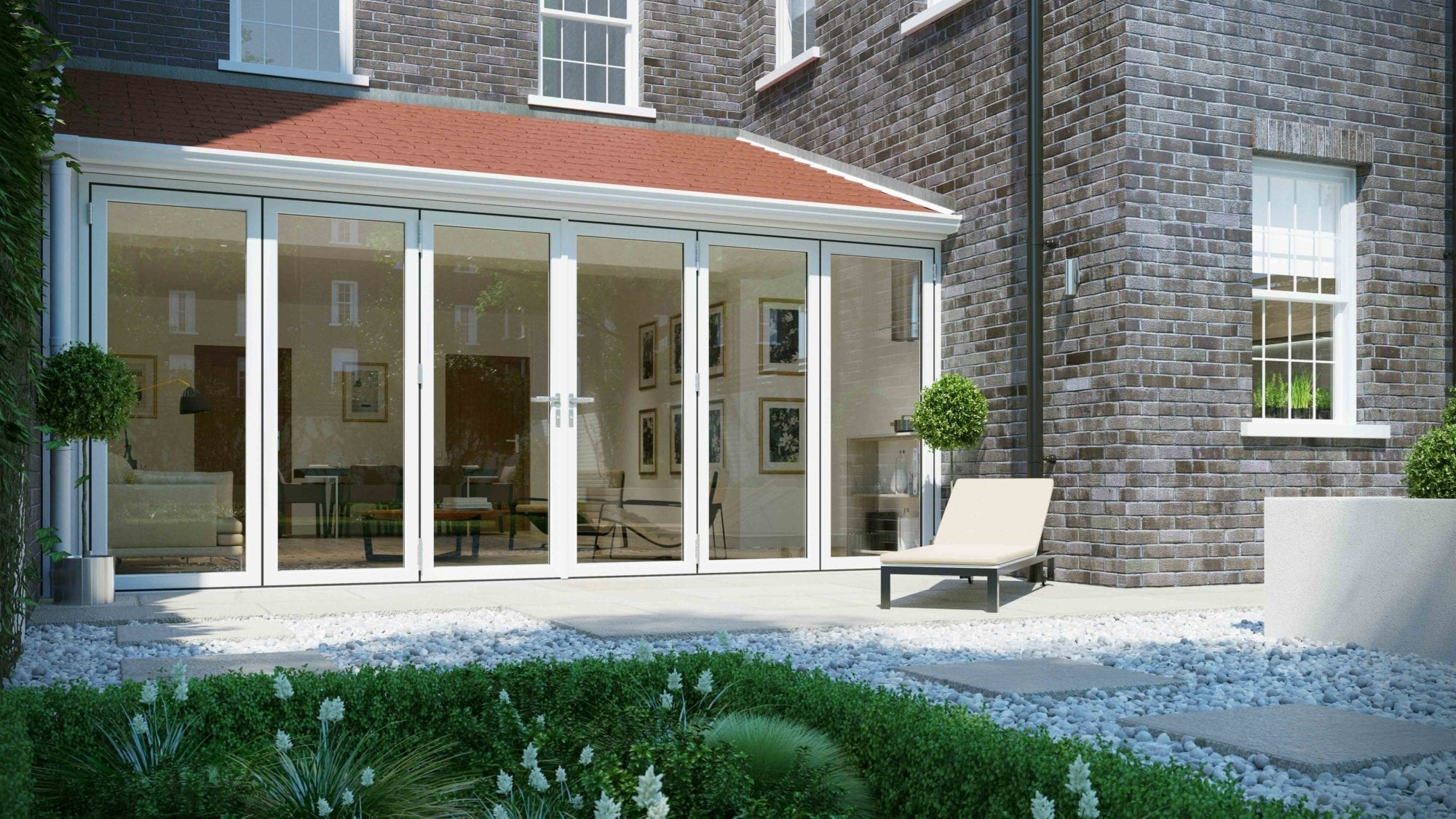 Quickslide doors sc 1 st flipsnack for Exterior folding doors