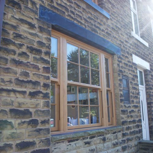 Victorian End Terrace - Wakefield - Exterior window