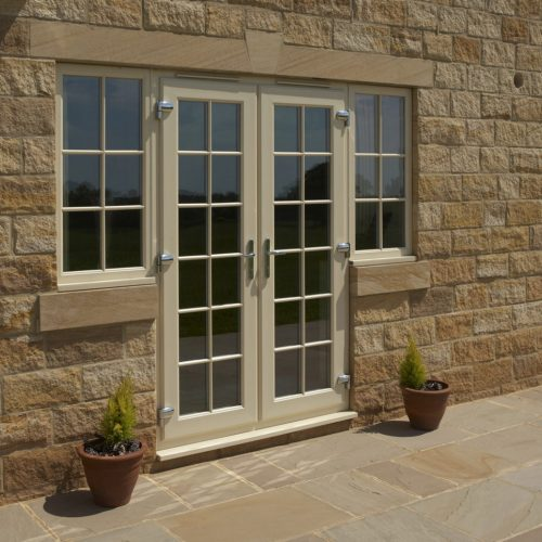 Farmhouse Sash Door Exterior