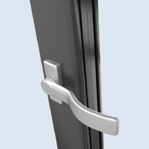 Satin Silver - Warmcore Doors