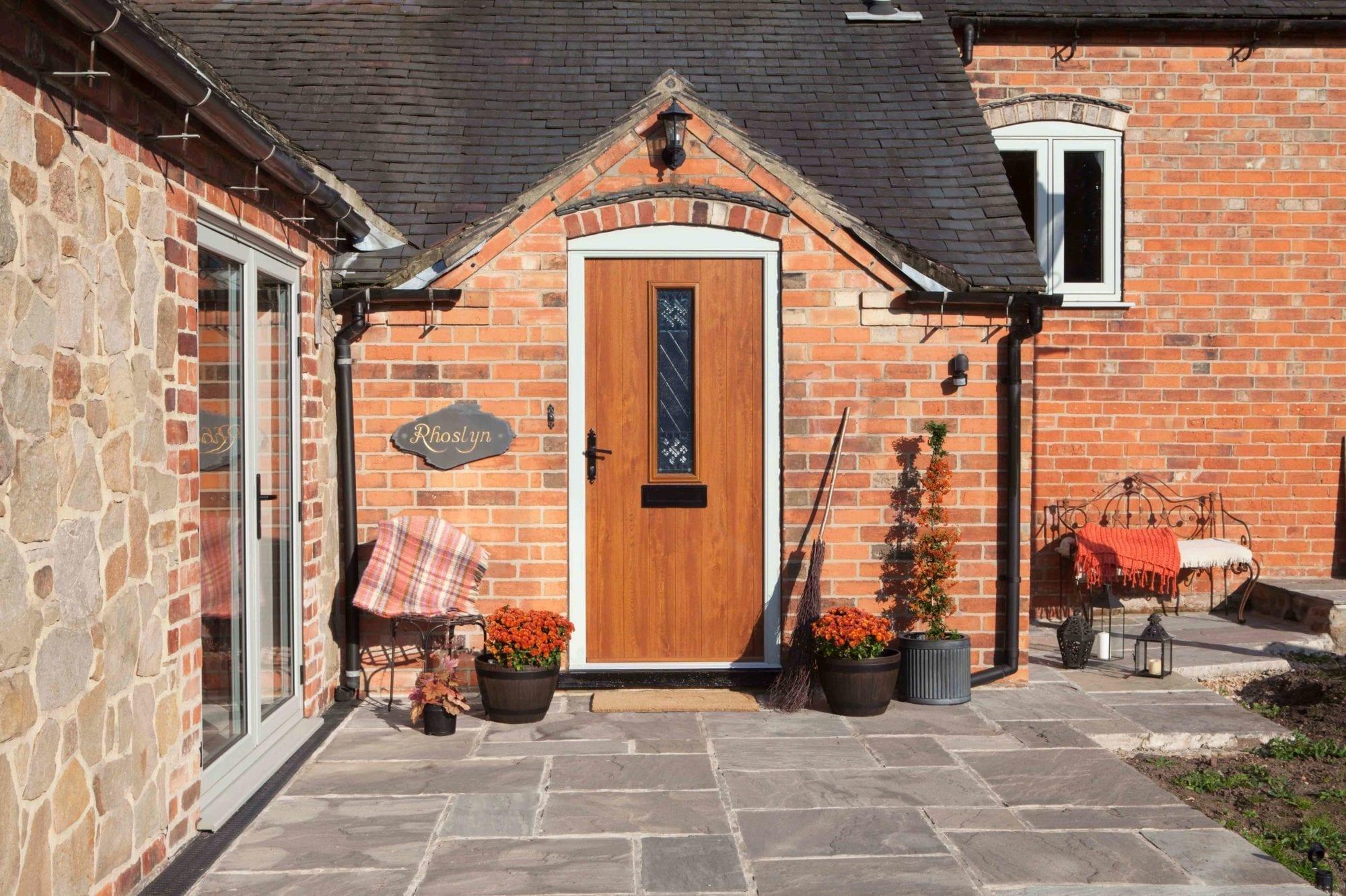 traditional exterior door
