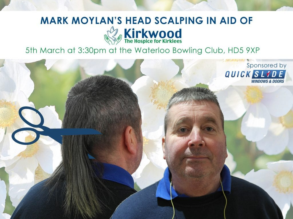 Mark Moylan's Head Scalping for Charity!
