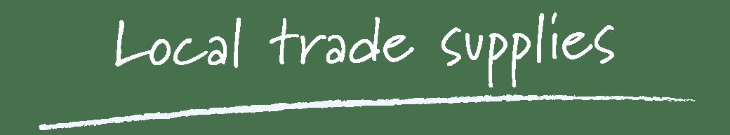 your local window and door trade supplier