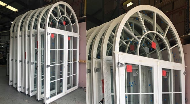 French-door-arched