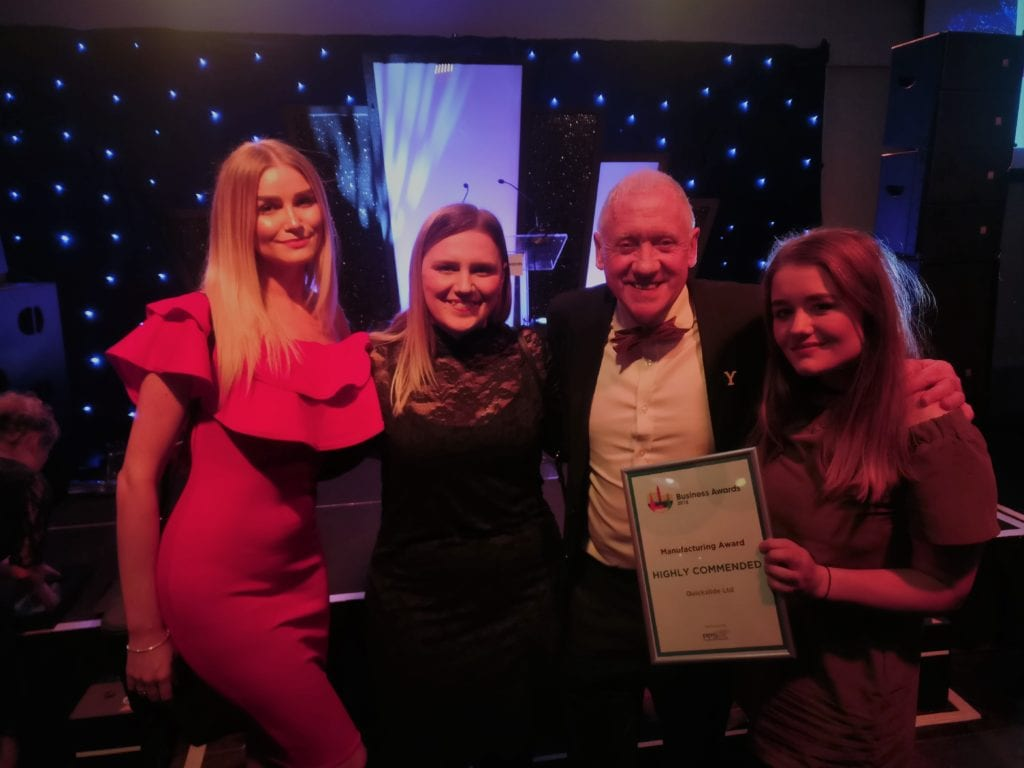 Proud to be Highly Commended at the Halifax Business Awards!