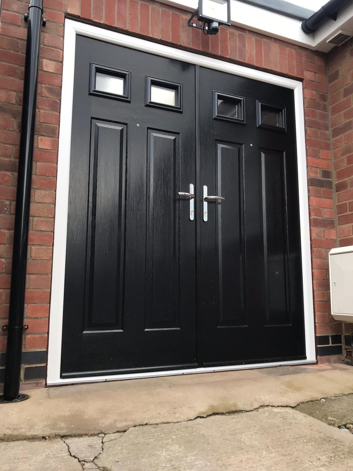 Double composite door