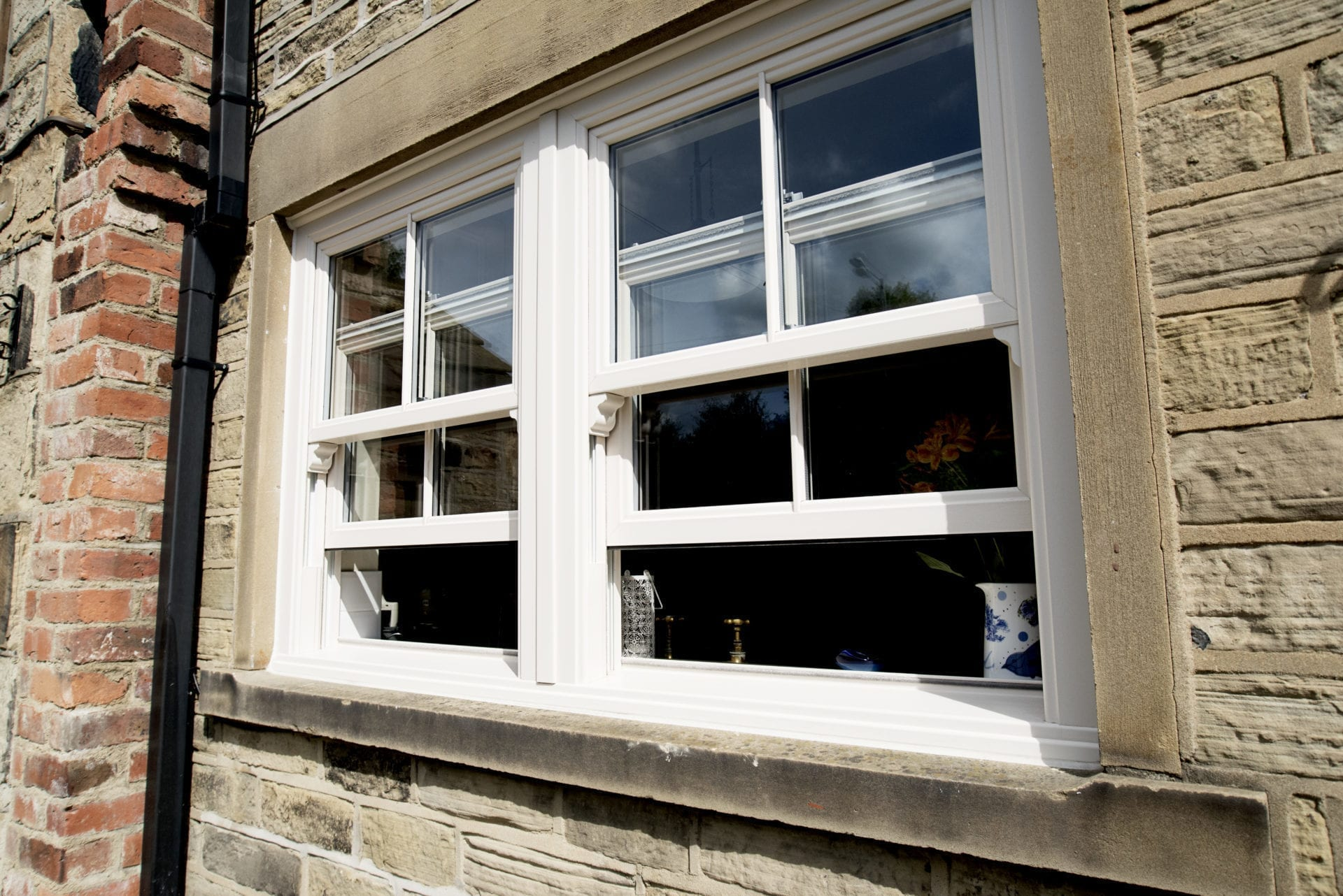PVCu Sliding Sash Window