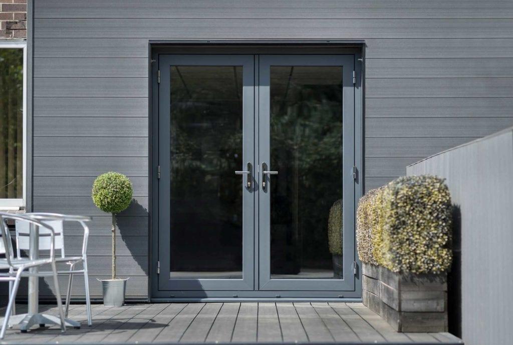 PVCu Flush French Doors