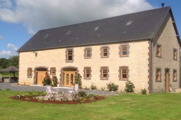 Edwardian Windows on a Farm House