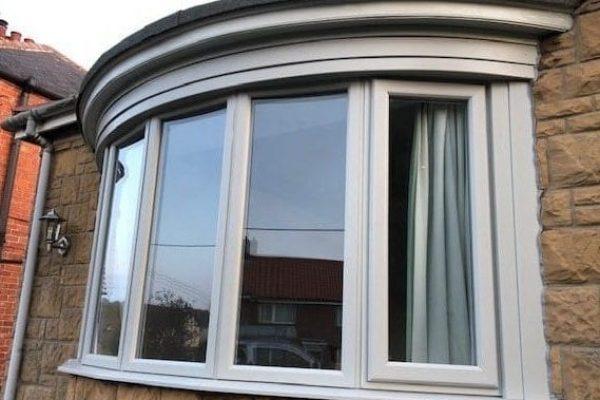 Grey Bow Window