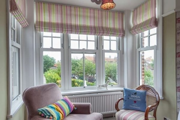 Edwardian Window Bars PVCu Bay Window