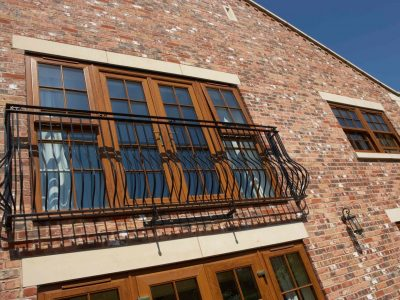Barn Conversion - Yorkshire - Balcony Close Up