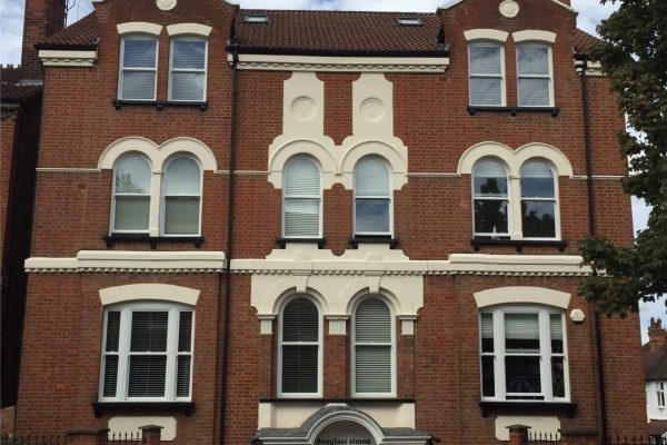 Arched Windows in Town House