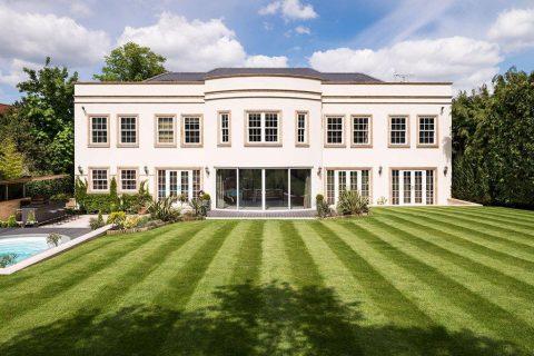 Surrey Mansion Exterior Day