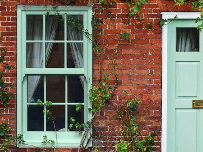 Chartwell Green PVCu Sliding Sash Windows