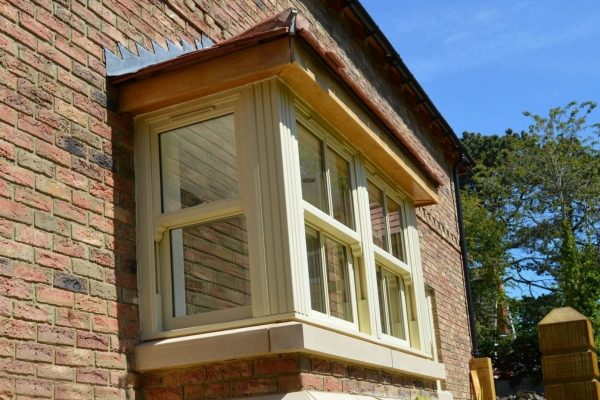 Cream Bay Window