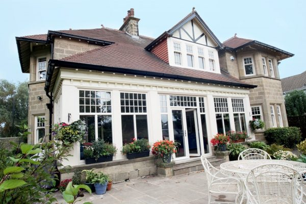 White Edwardian Windows in a Beautiful Home