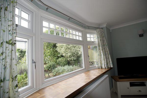 Edwardian Bow Window