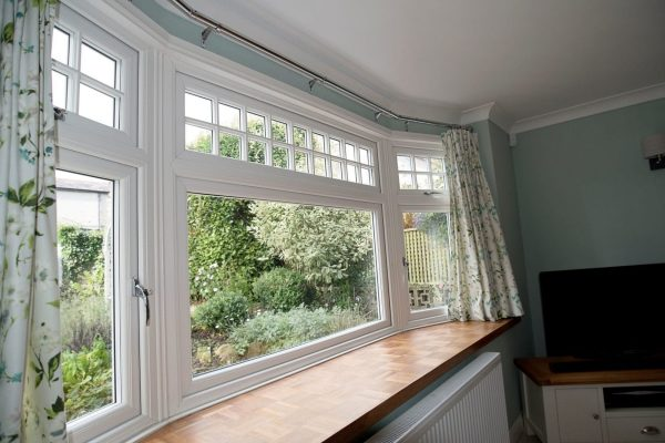 Interior Bow Window