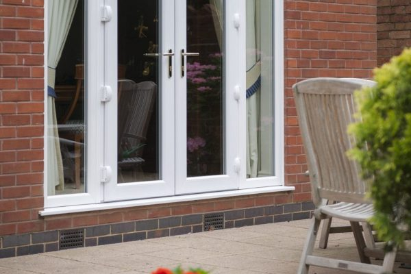 Storm Sash French Doors