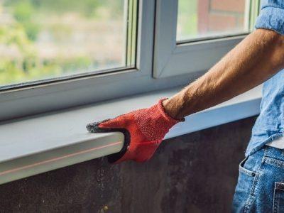 UPVC Window Fitting