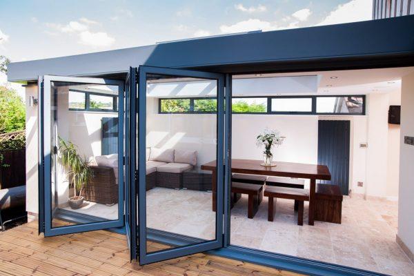 aluminium bi-fold door prices cambridge