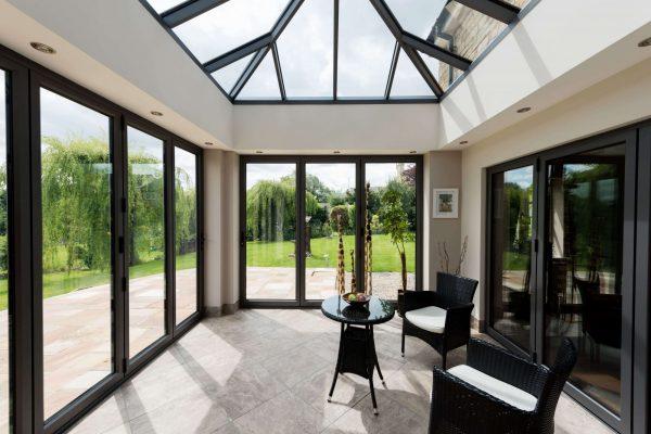 aluminium bi-fold door prices london