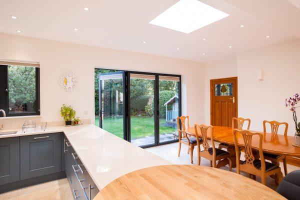 aluminium bi-fold doors costs london