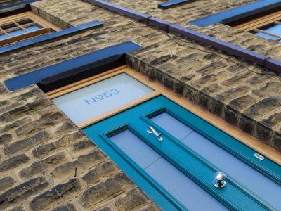 Victorian End Terrace - Wakefield - Front Door Exterior
