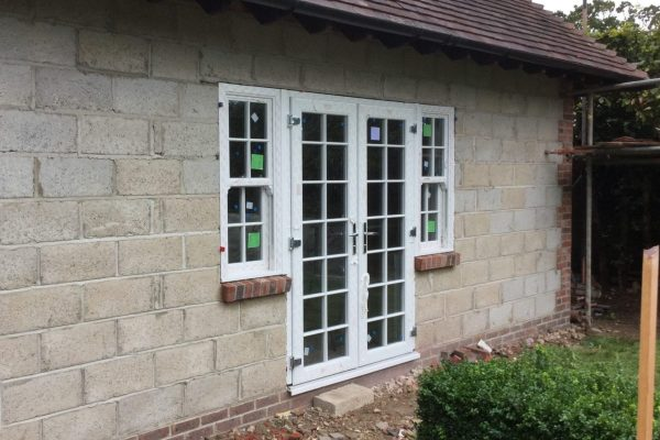 coupled in french door