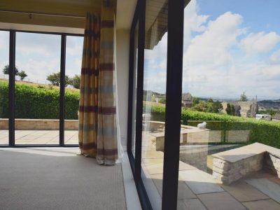 triple glazing installation
